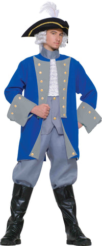 Mens Colonial General Costume - HalloweenCostumes4U.com - Adult Costumes