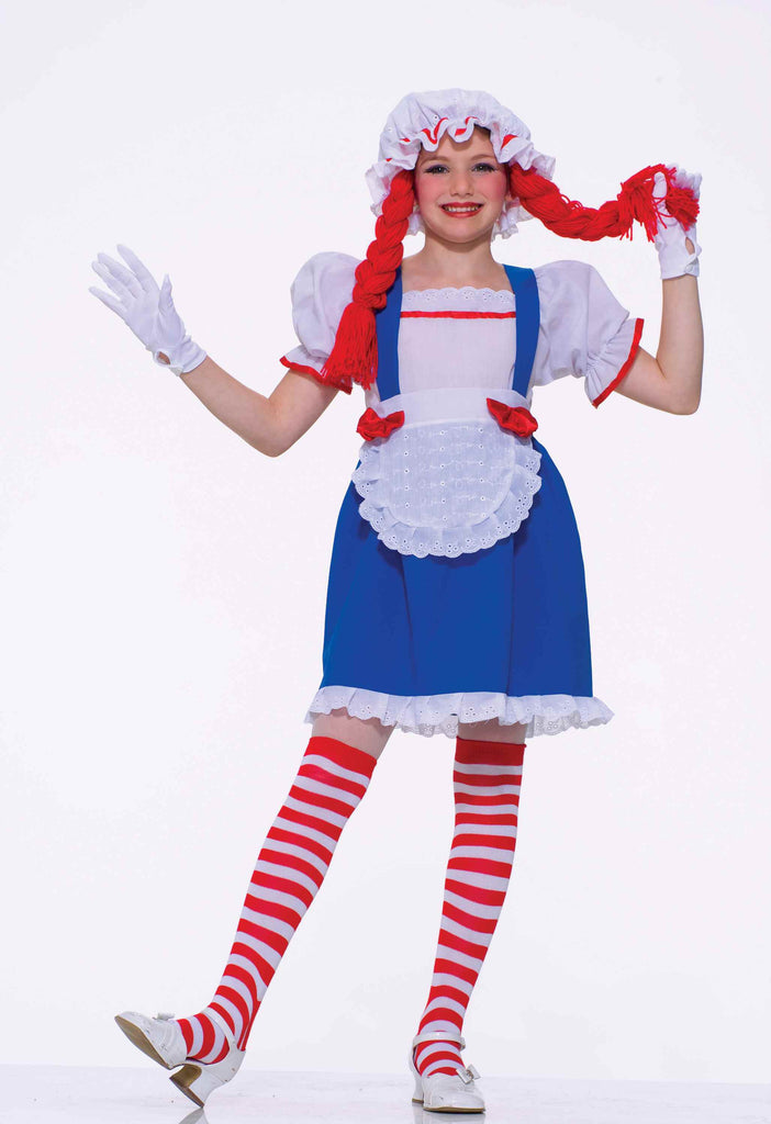 Halloween Costumes Girls Rag Doll Costume - HalloweenCostumes4U.com - Kids Costumes
