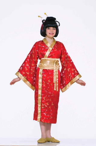 Kids Halloween Costumes Girls Geisha Costume - HalloweenCostumes4U.com - Kids Costumes