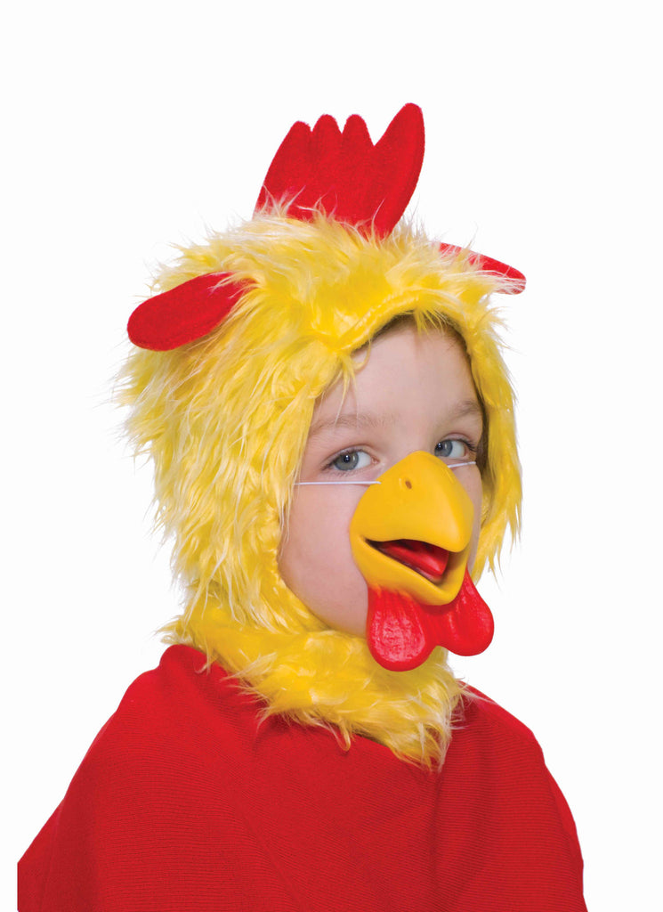 Chicken Hood & Beak - HalloweenCostumes4U.com - Accessories