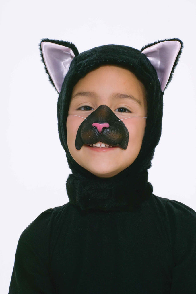 Kids Costume Masks Cat Head Cover and Nose - HalloweenCostumes4U.com - Accessories