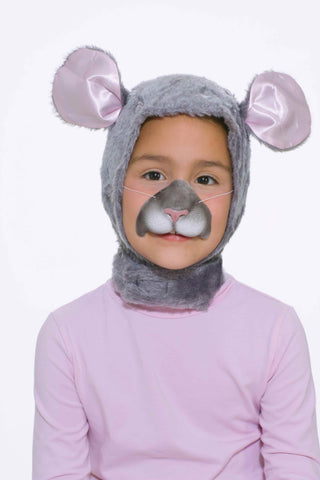 Kids Halloween Masks Mouse Hood and Nose - HalloweenCostumes4U.com - Accessories