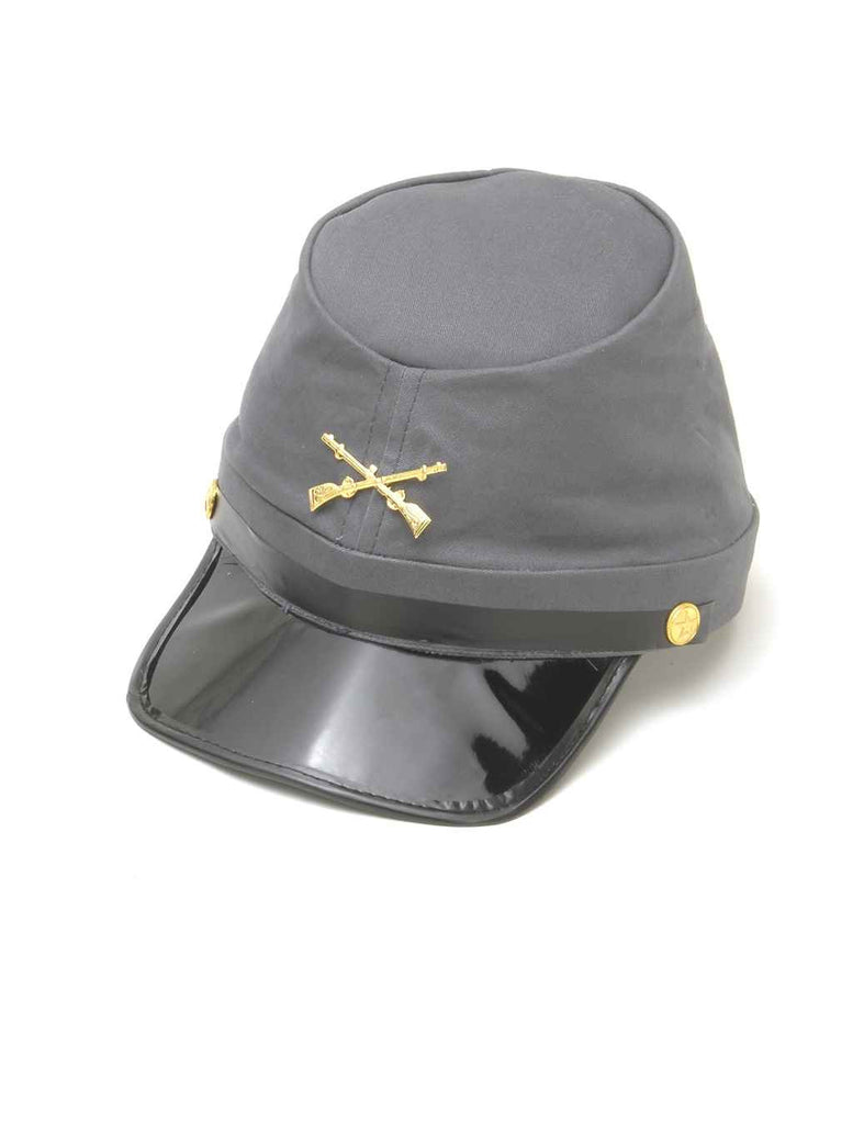 Halloween Hats Civil War Costume Hat Confederate Soldier - HalloweenCostumes4U.com - Accessories