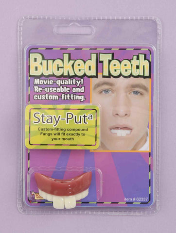 Halloween Costume Buck Teeth - HalloweenCostumes4U.com - Accessories