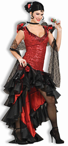 Halloween Costumes Spanish Woman Costume Superior - HalloweenCostumes4U.com - Adult Costumes
