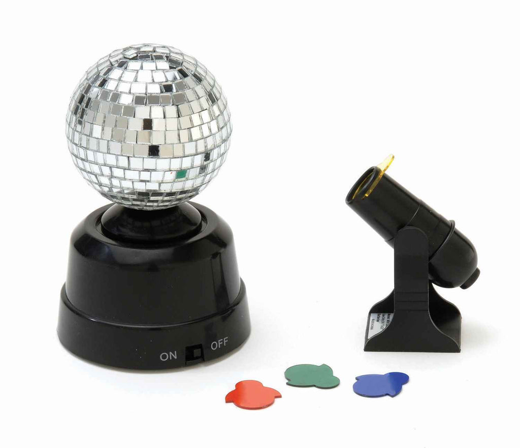 Halloween Party Lights Disco Ball Mini Set - HalloweenCostumes4U.com - Decorations
