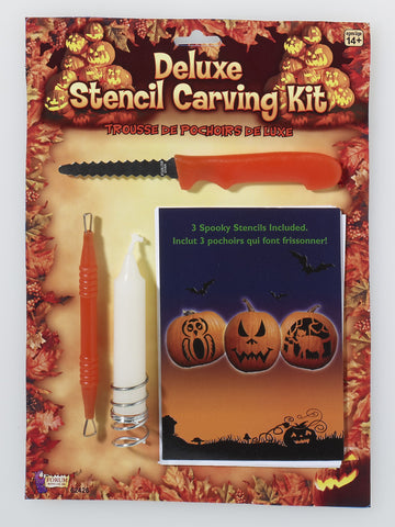 Stencil Pumpkin Carving Kits - HalloweenCostumes4U.com - Decorations