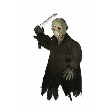 Hanging Jason Voorhees Prop - HalloweenCostumes4U.com - Decorations