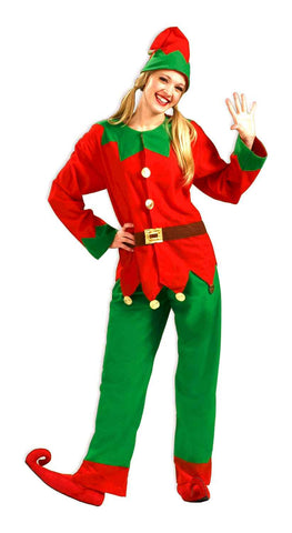 Adults Simply Elf Costume - HalloweenCostumes4U.com - Adult Costumes