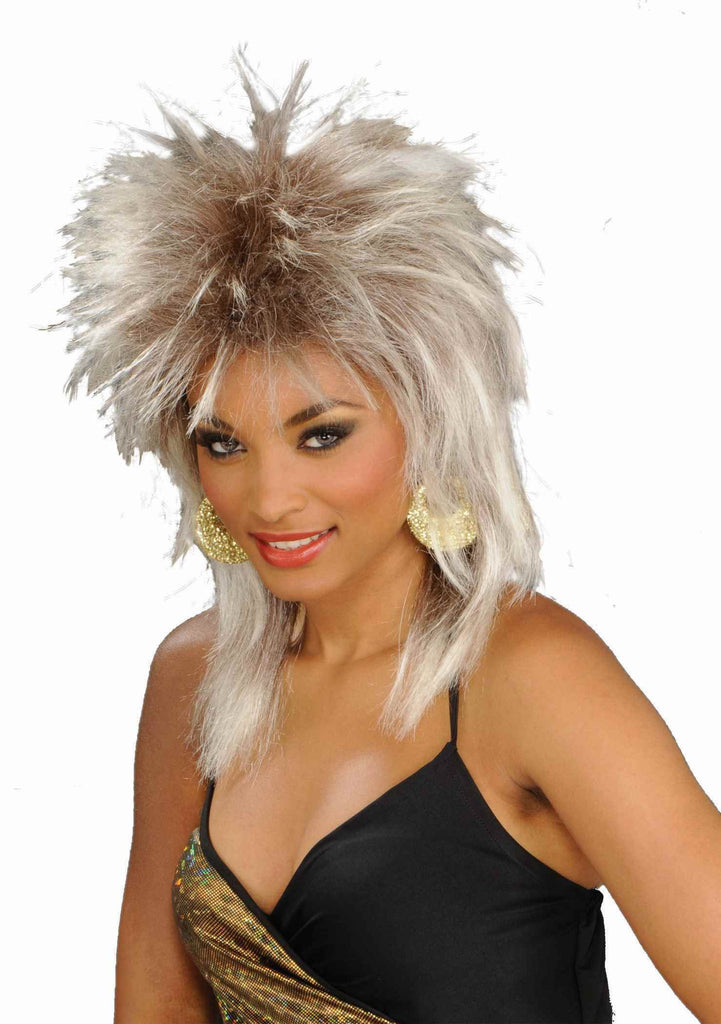 Eighties Diva Costume Wig Dirty Blonde - HalloweenCostumes4U.com - Accessories