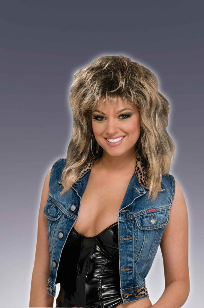Eighties Groupie Wig Dirty Blonde - HalloweenCostumes4U.com - Accessories