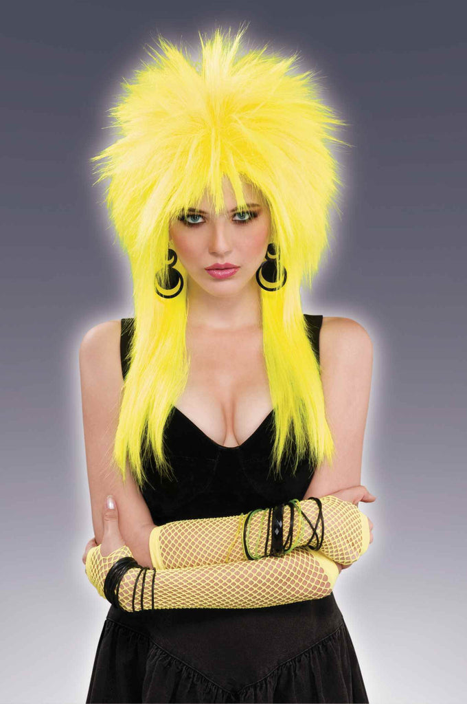 Spiked Wigs Yellow