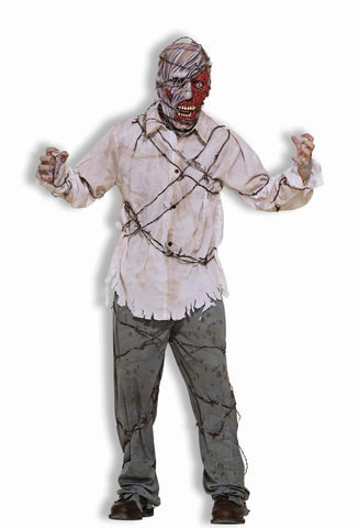 Zombie Costumes Barb Wire Zombie Adult - HalloweenCostumes4U.com - Adult Costumes