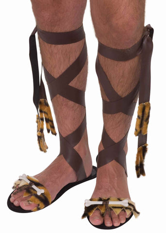 Caveman Sandals - HalloweenCostumes4U.com - Accessories