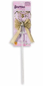Shimmery Princess Wand - HalloweenCostumes4U.com - Accessories