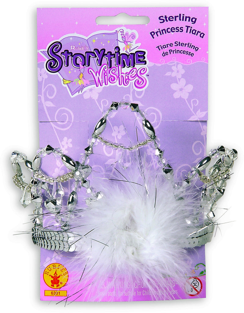 Sterling Princess Tiara - HalloweenCostumes4U.com - Accessories
