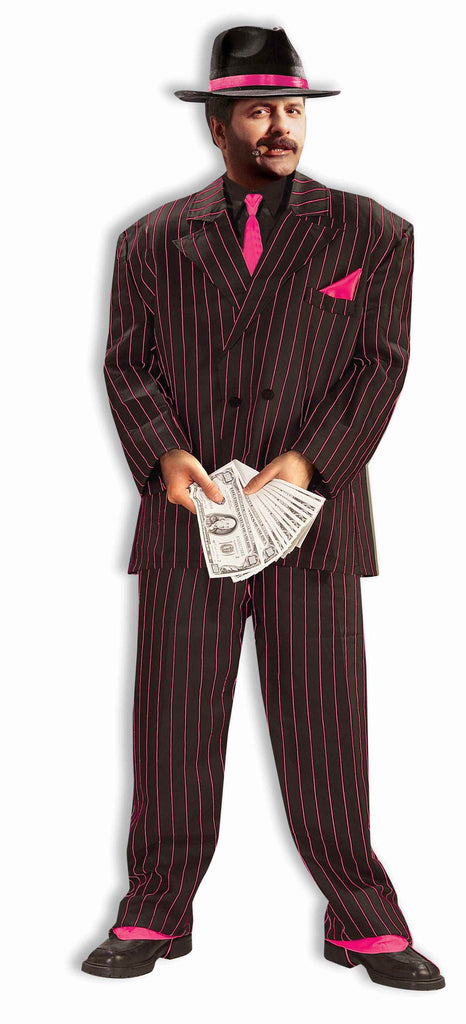 Costume-Jazzy Pink Gangster Suit-XL - HalloweenCostumes4U.com - Costumes