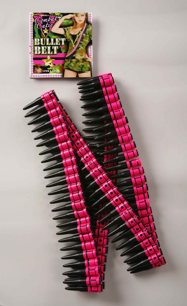 Ladies Costume Bullet Sash