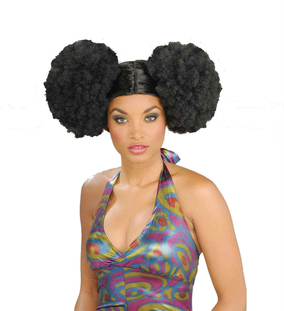 African Puff Wig