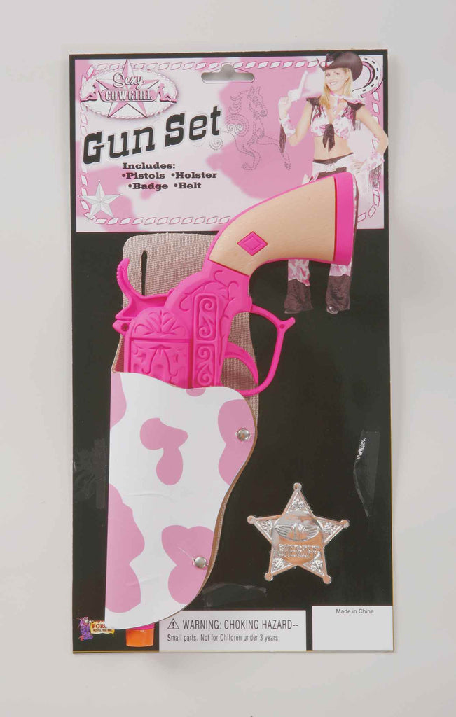 Cowgirl's Gun and Holster Set - HalloweenCostumes4U.com - Accessories