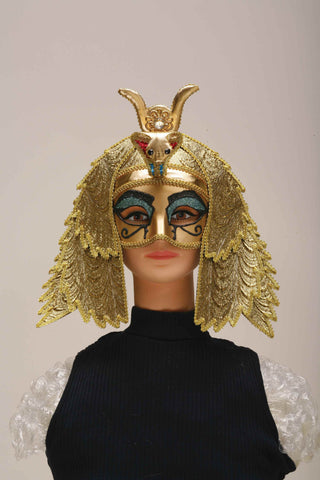 Egyptian Queen Costume Mask - HalloweenCostumes4U.com - Accessories