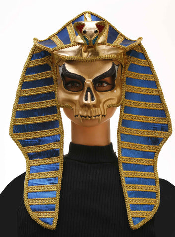 Egyptian Mummy King Halloween Mask - HalloweenCostumes4U.com - Accessories