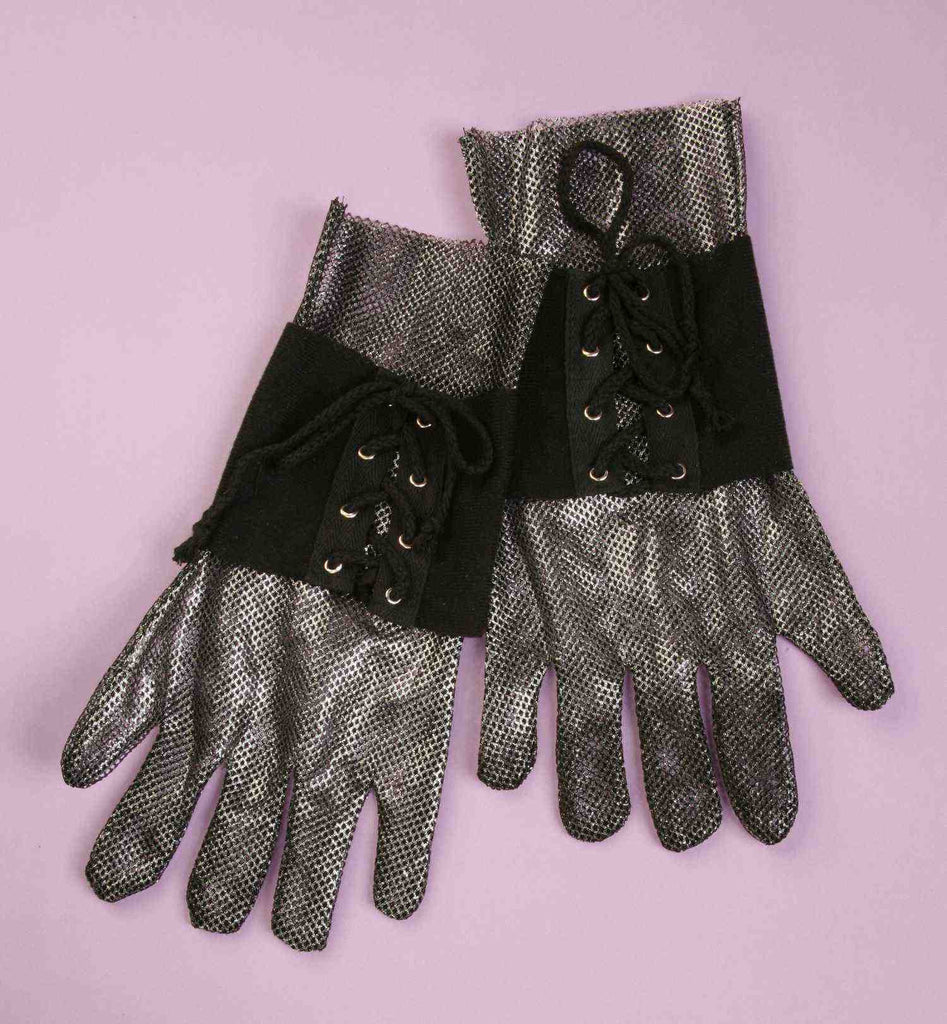 Halloween Costume Knight's Gloves - HalloweenCostumes4U.com - Accessories