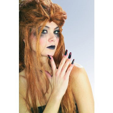 Black and Bloody Fingernails - HalloweenCostumes4U.com - Accessories