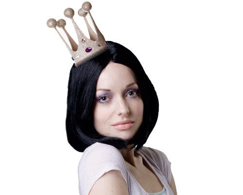 Glittered Mini Crown - Various Colors - HalloweenCostumes4U.com - Accessories - 2