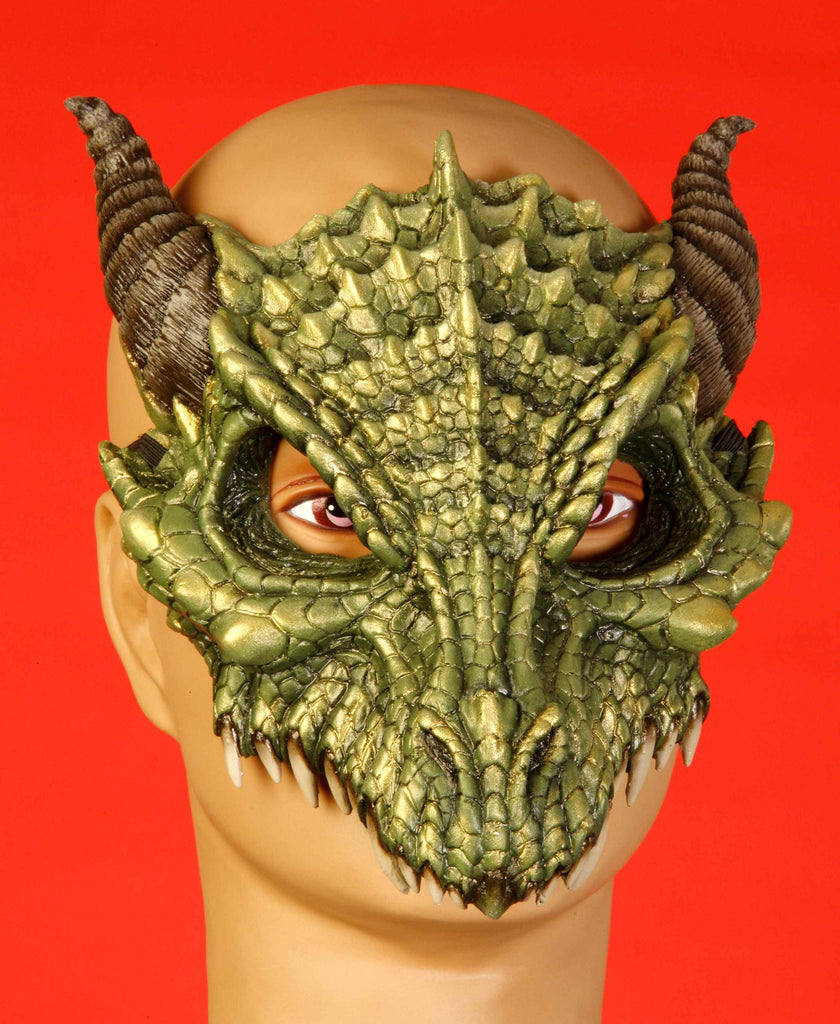 Demon Halloween Face Mask - HalloweenCostumes4U.com - Accessories