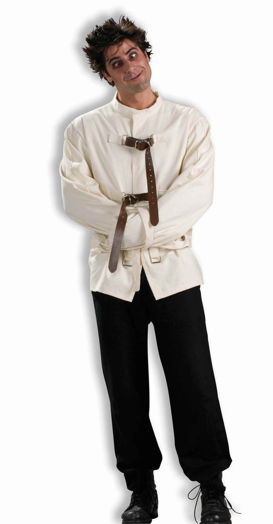 Halloween Straight Jacket Mental Patient Costume