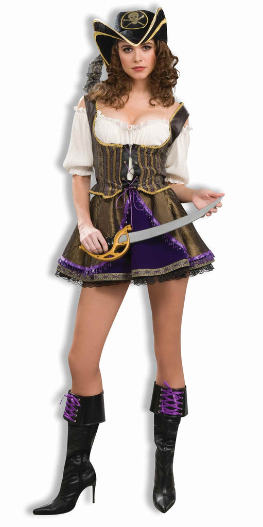 Designer Sexy Pirate Woman Costumes - HalloweenCostumes4U.com - Adult Costumes