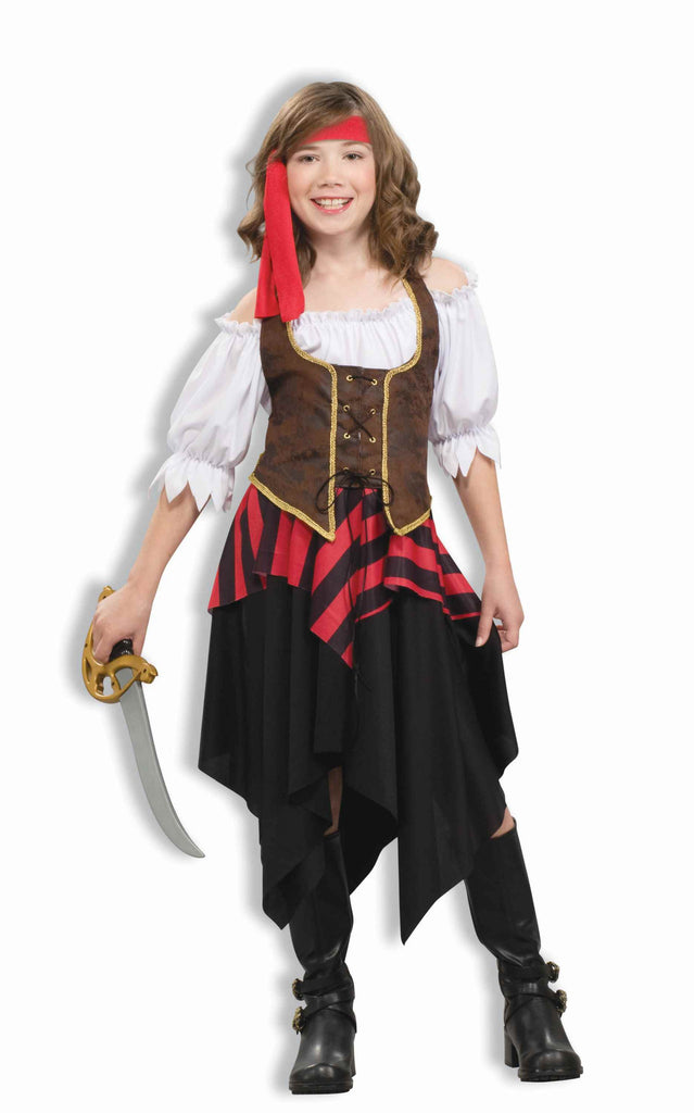 Pirate Girl Costume Kid's Pirate Deluxe