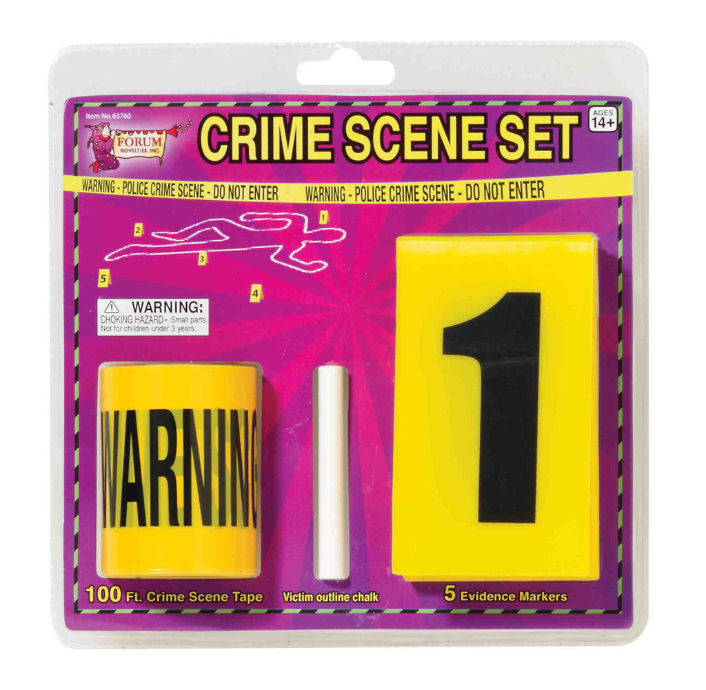 Crime Scene Kit - HalloweenCostumes4U.com - Accessories