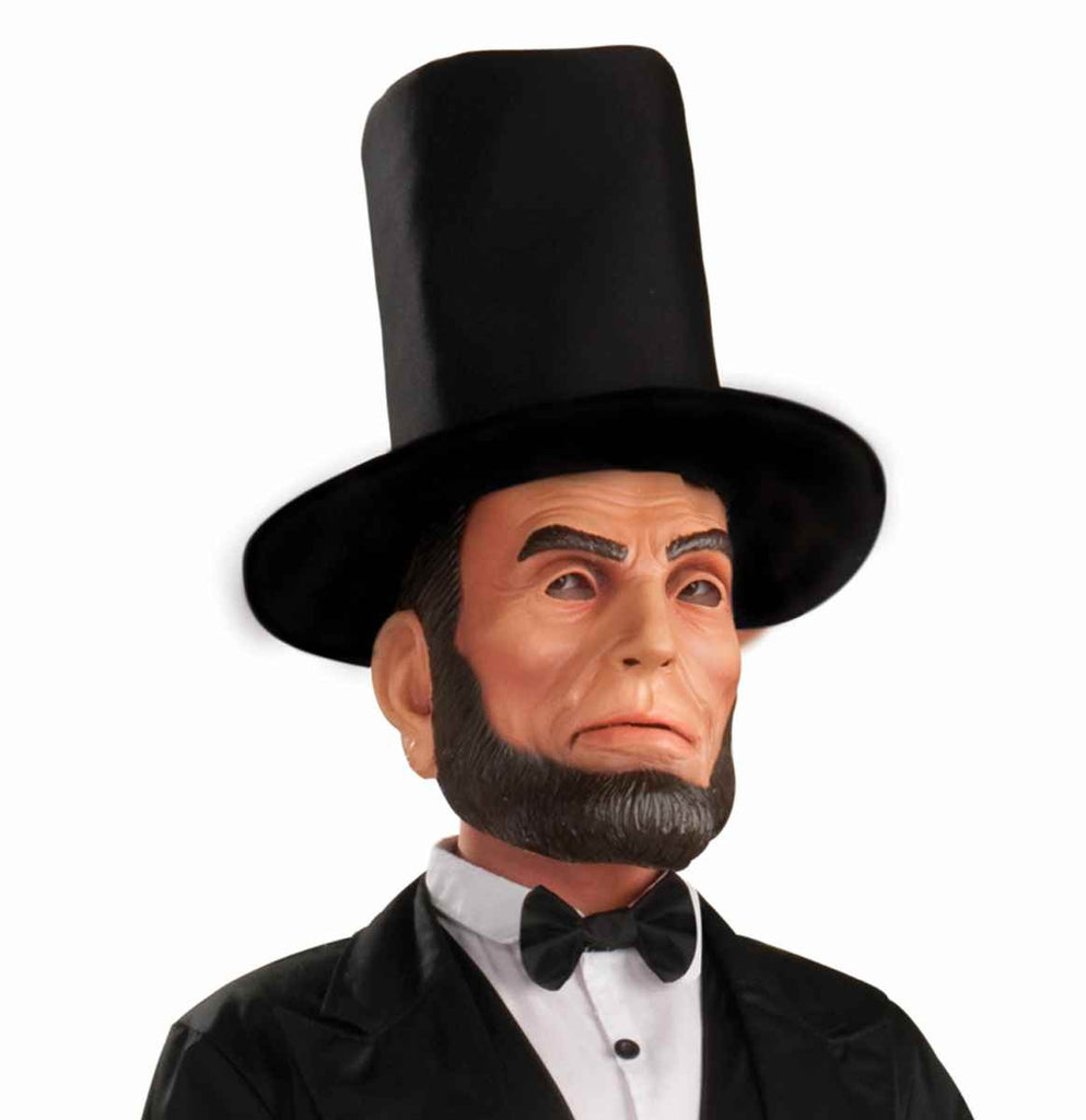 Abraham Lincoln Mask - HalloweenCostumes4U.com - Accessories