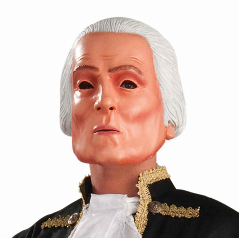 George Washington Costume Masks - HalloweenCostumes4U.com - Accessories