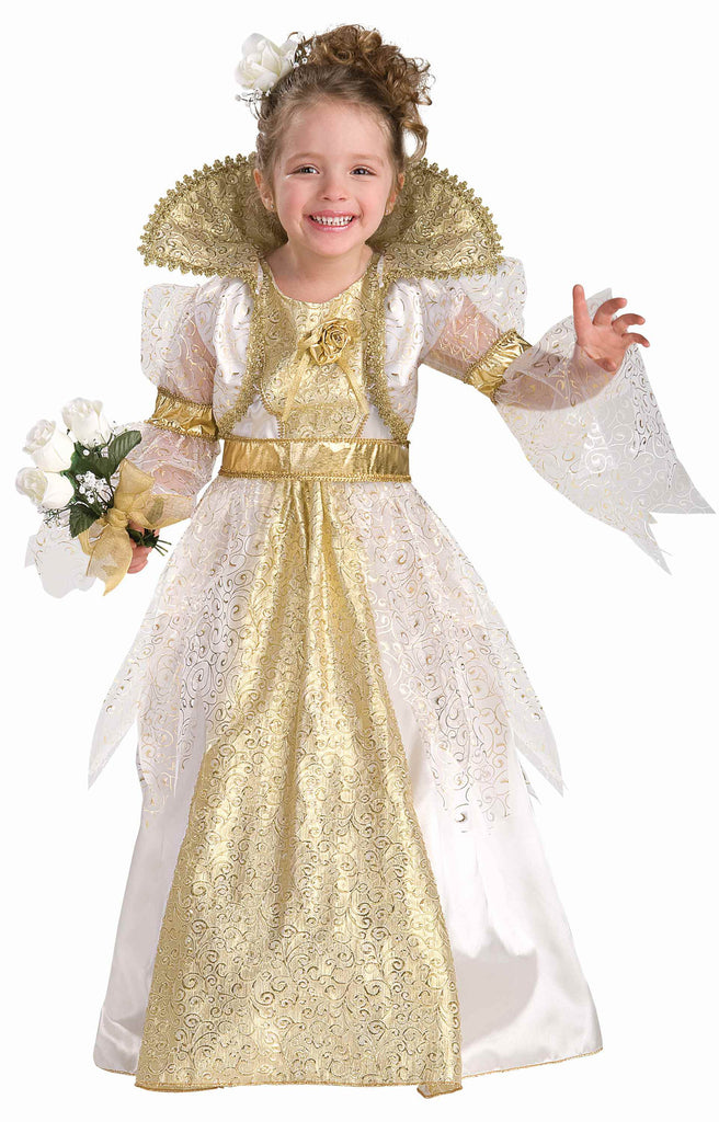 Girls Costumes Royal Princess Bride Costume - HalloweenCostumes4U.com - Kids Costumes
