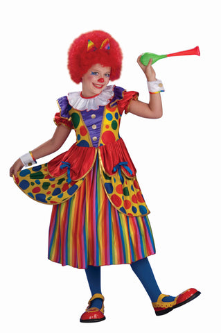Kids Clown Princess Costume - HalloweenCostumes4U.com - Kids Costumes