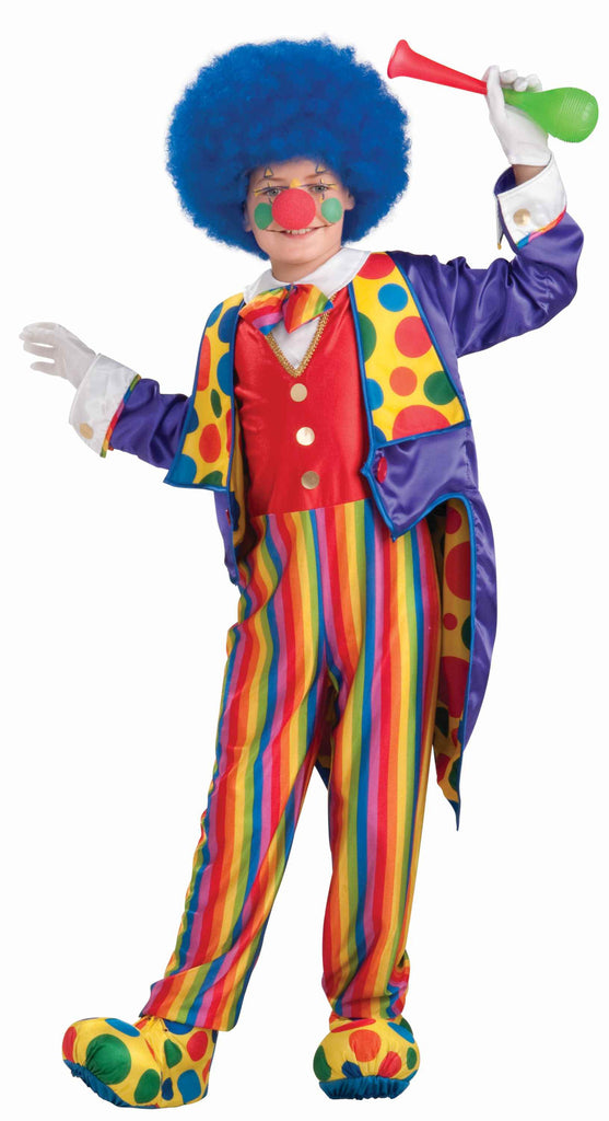 Kids Classy Clown Costume - HalloweenCostumes4U.com - Kids Costumes