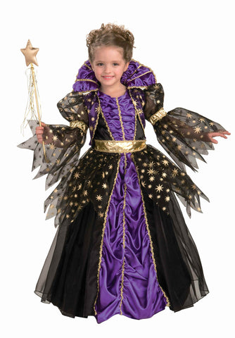 Girls Magical Witch Costume - HalloweenCostumes4U.com - Kids Costumes