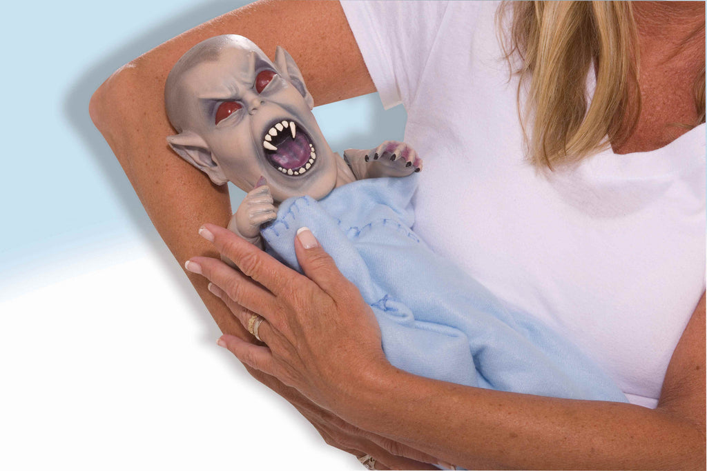 Halloween Vampire Baby Doll - HalloweenCostumes4U.com - Infant & Toddler Costumes