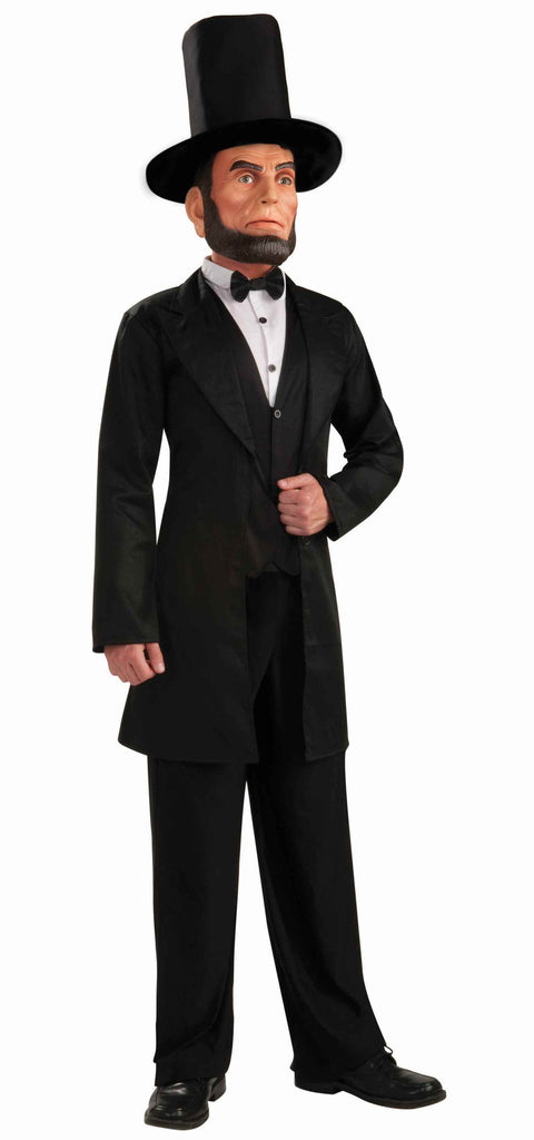 Men's Abraham Lincoln Costume with Mask