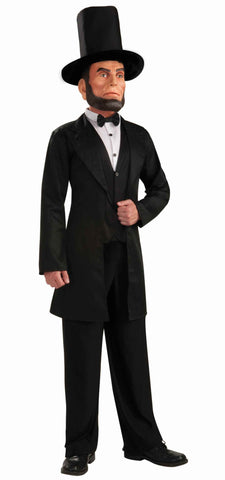 Men's Abraham Lincoln Costume with Mask - HalloweenCostumes4U.com - Accessories