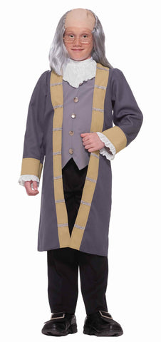 Boys Ben Franklin Costume - HalloweenCostumes4U.com - Kids Costumes