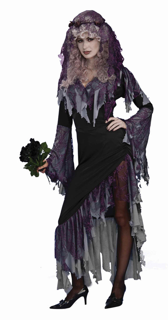 Halloween Zombie Bride Costumes Adult - HalloweenCostumes4U.com - Adult Costumes