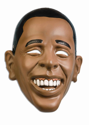 Plastic Barack Obama Mask - HalloweenCostumes4U.com - Accessories