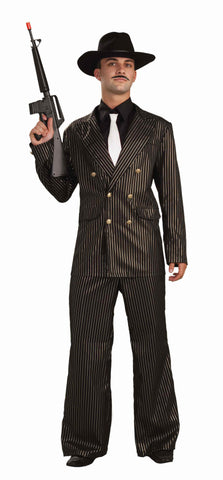 Gold Gangster Halloween Costumes for Men - HalloweenCostumes4U.com - Adult Costumes
