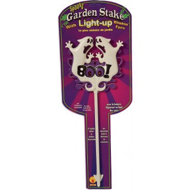 Garden Stake Light Up Ghosts - HalloweenCostumes4U.com - Decorations