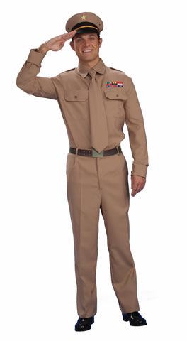 Mens WWII Army General Costume - HalloweenCostumes4U.com - Adult Costumes