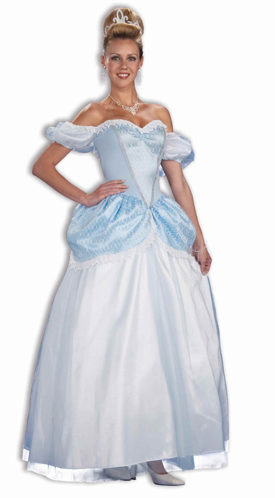 Womens Blue Storybook Princess Gown